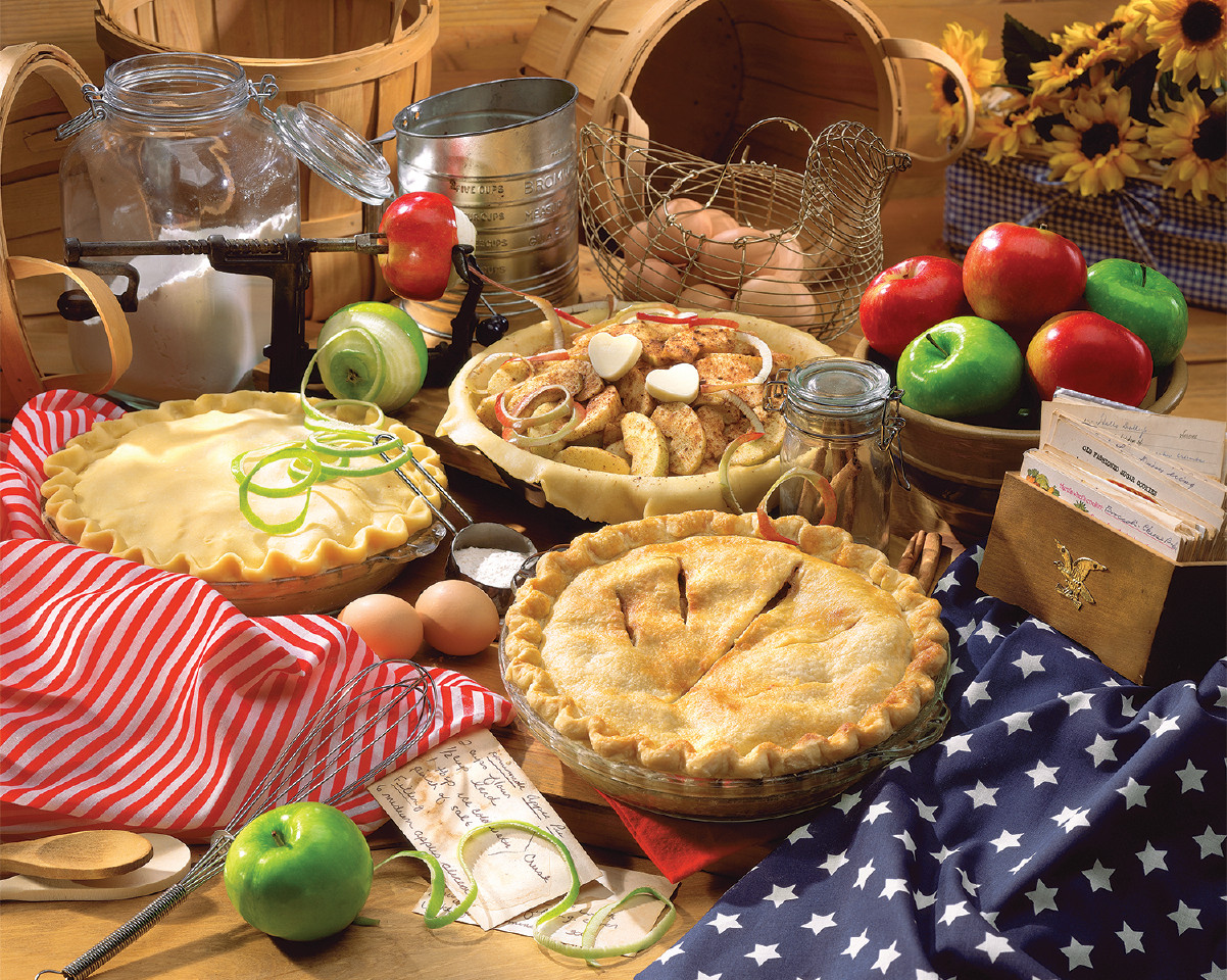 Apple Pie Food and Drink Jigsaw Puzzle