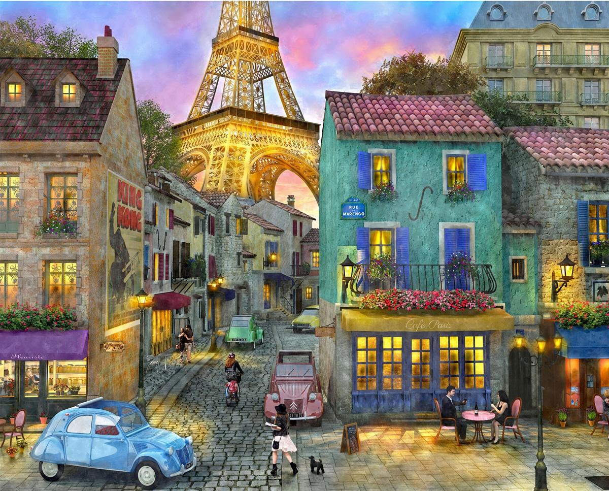 Eiffel Magic France Jigsaw Puzzle