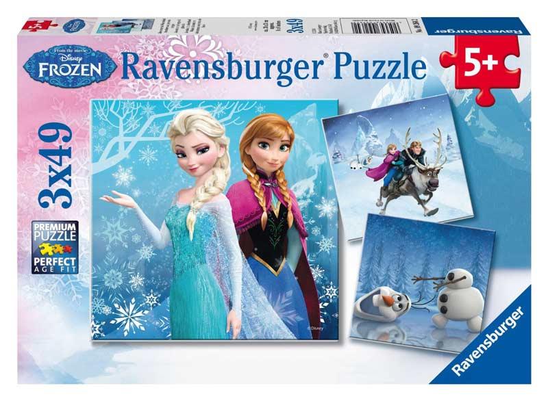 Winter Adventures Disney Jigsaw Puzzle