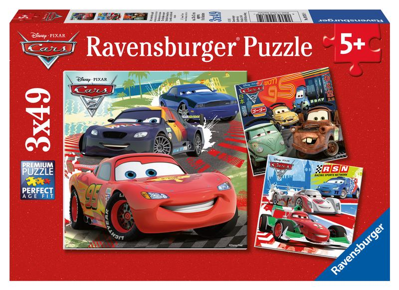 Worldwide Racing Fun Cars Children's Puzzles