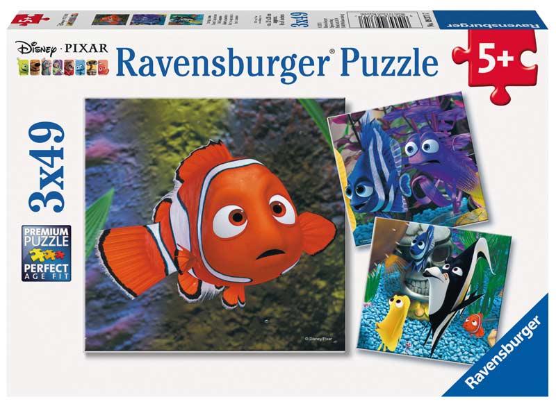 In the Aquarium Disney Jigsaw Puzzle