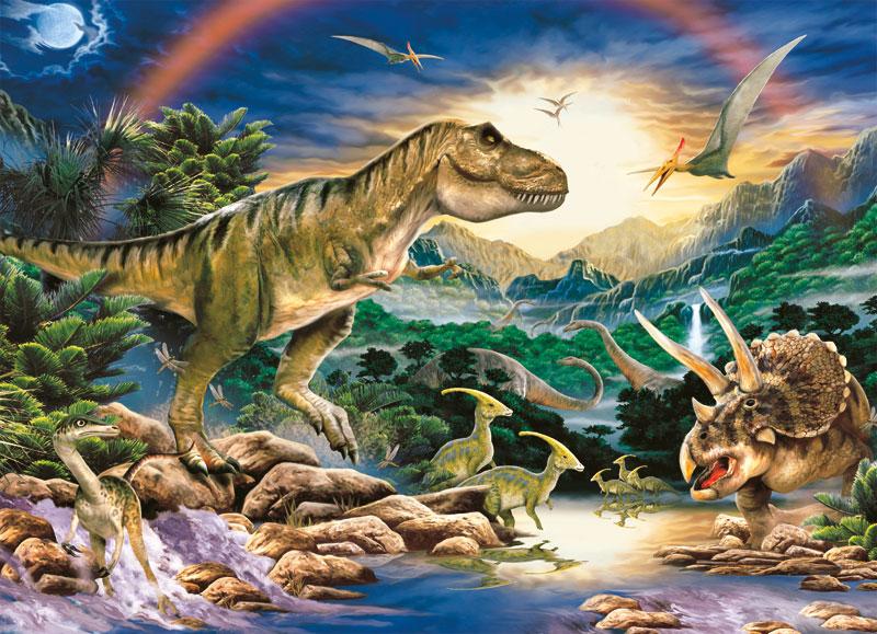 Dinosaur Times Dinosaurs Children's Puzzles
