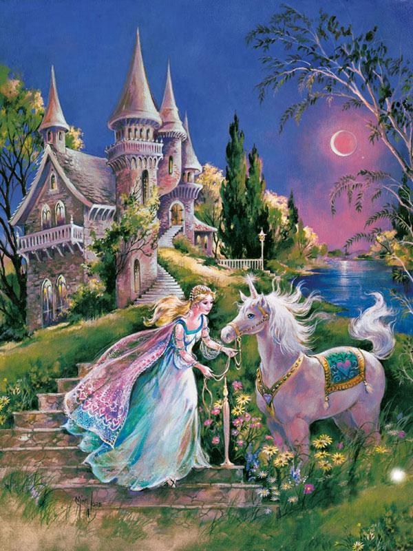 The Magical Unicorn Princess Children's Puzzles