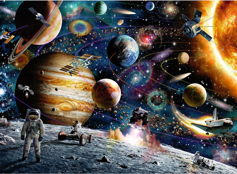 Outer Space Space Jigsaw Puzzle
