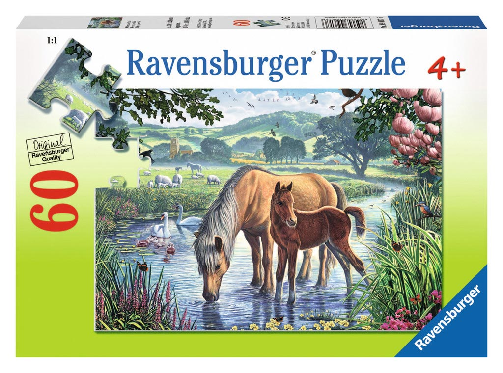 Mother and Foal - Scratch and Dent Countryside Jigsaw Puzzle