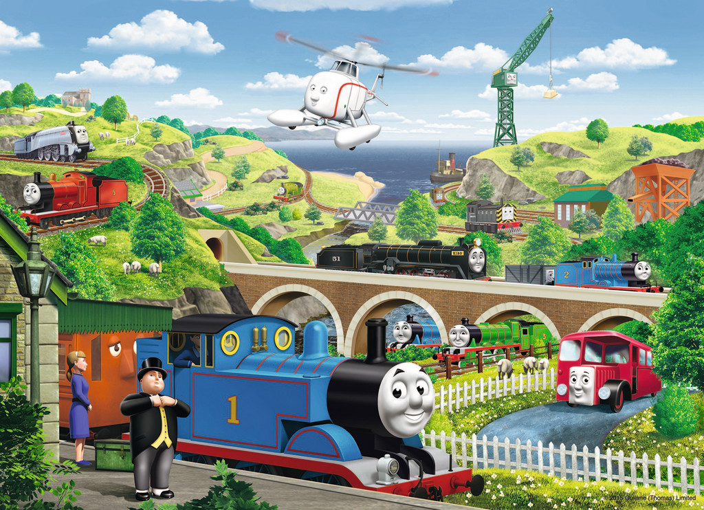Friends Around Sodor Thomas And Jigsaw Puzzle