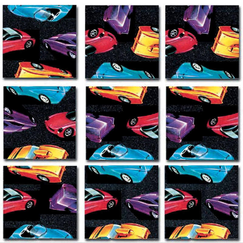 Retro Rods Cars Jigsaw Puzzle