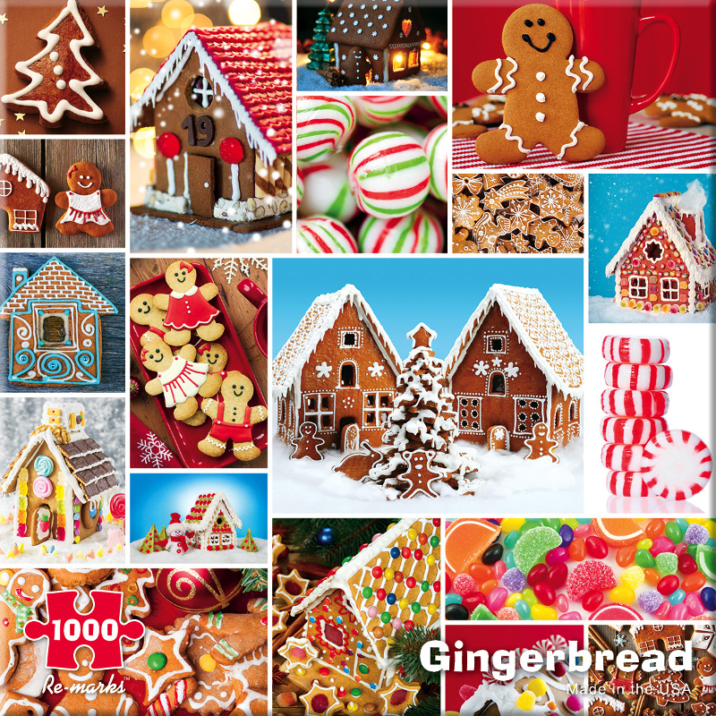 Gingerbread Christmas Jigsaw Puzzle
