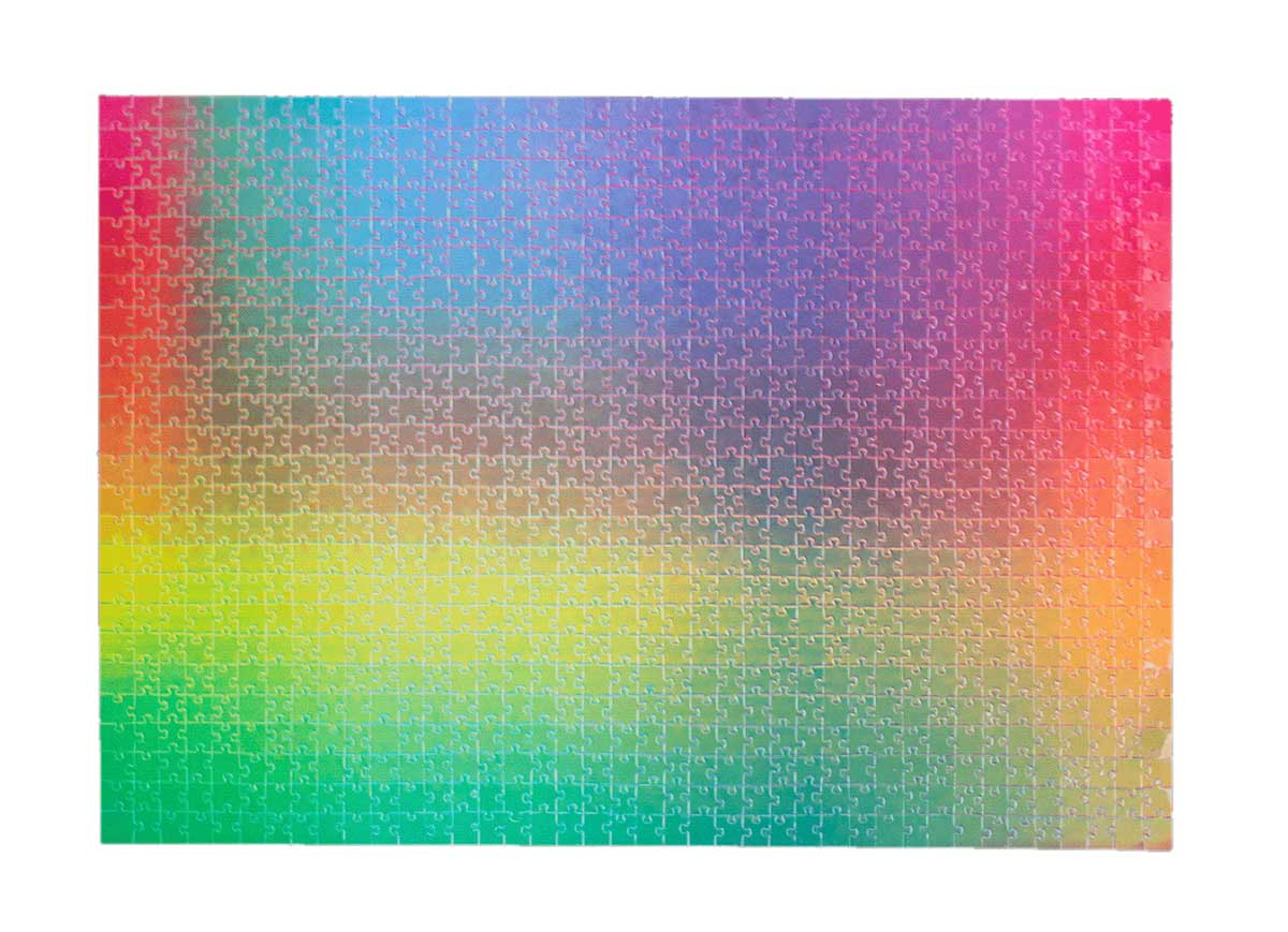 1000 Changing Colours Graphics / Illustration Jigsaw Puzzle