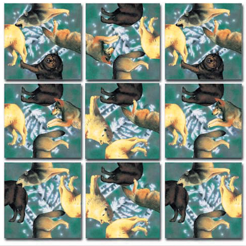 Wolves Wolves Children's Puzzles