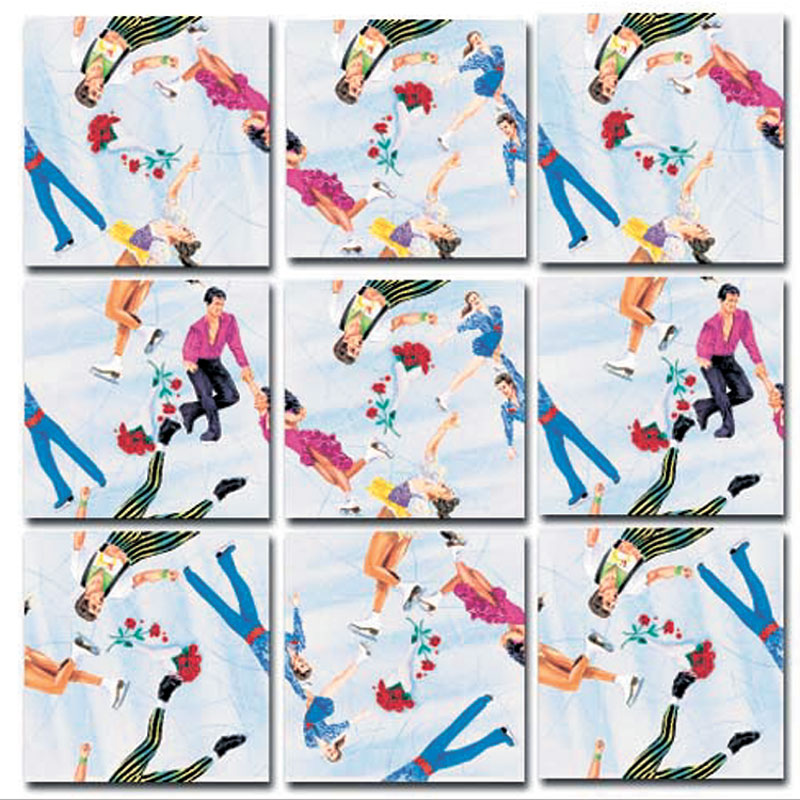 Figure Skating Sports Jigsaw Puzzle