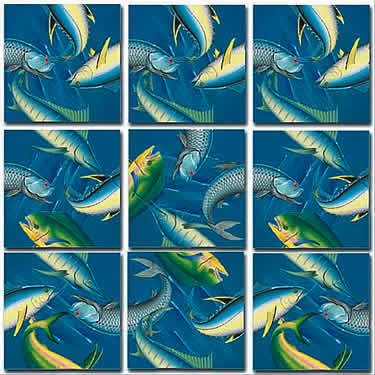 Deep Sea Fish Fish Non-Interlocking Puzzle
