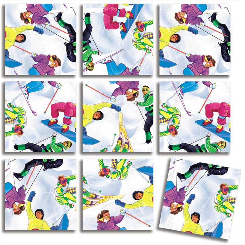 Skiing Sports Jigsaw Puzzle