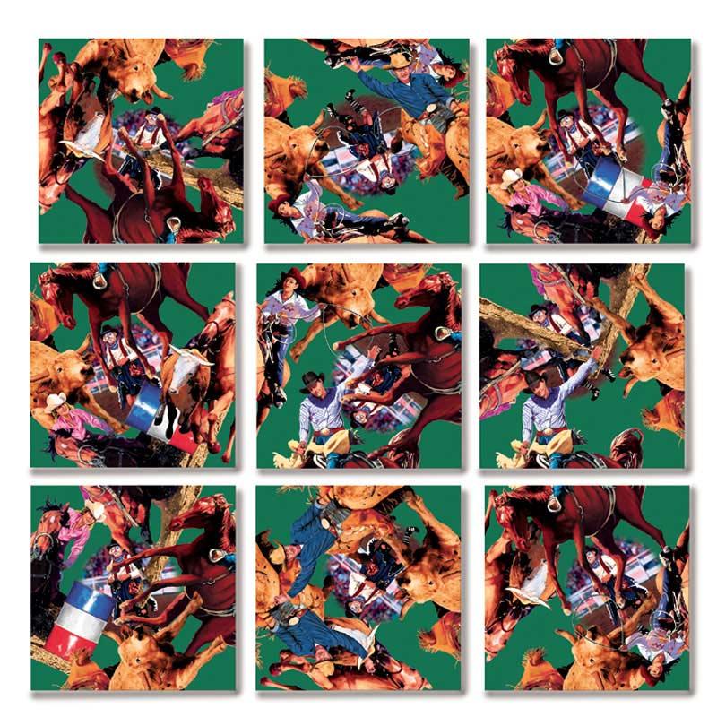 Rodeo Animals Children's Puzzles