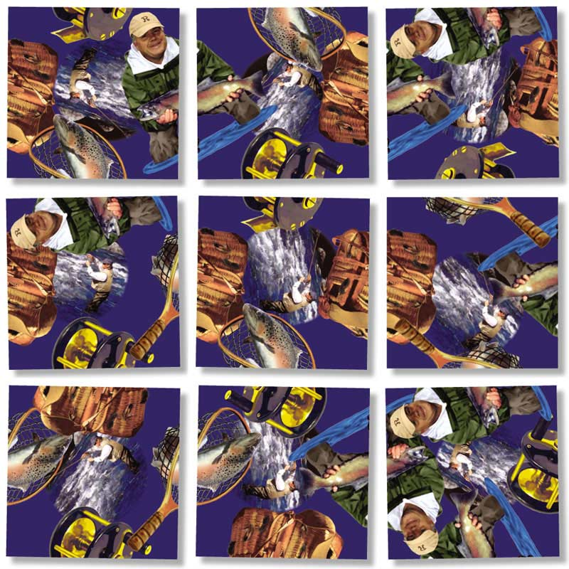 Fly Fishing Wildlife Jigsaw Puzzle