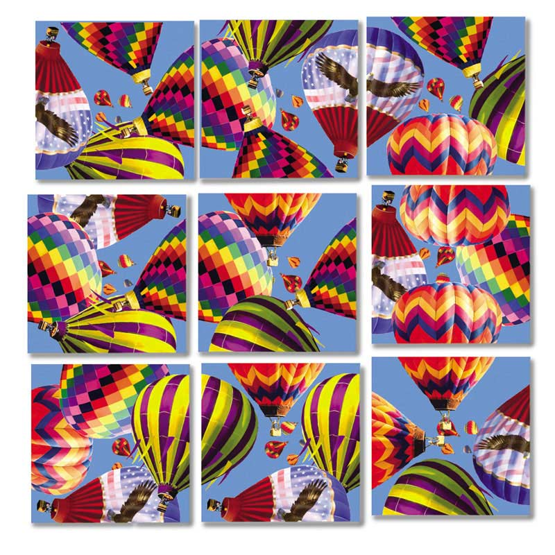 Hot Air Balloons Balloons Children's Puzzles