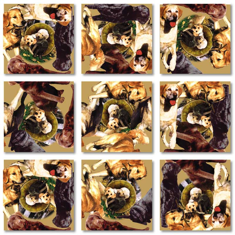 Retrievers Dogs Jigsaw Puzzle