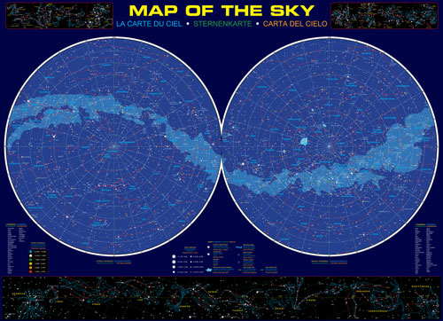 Map of the Sky Educational Jigsaw Puzzle