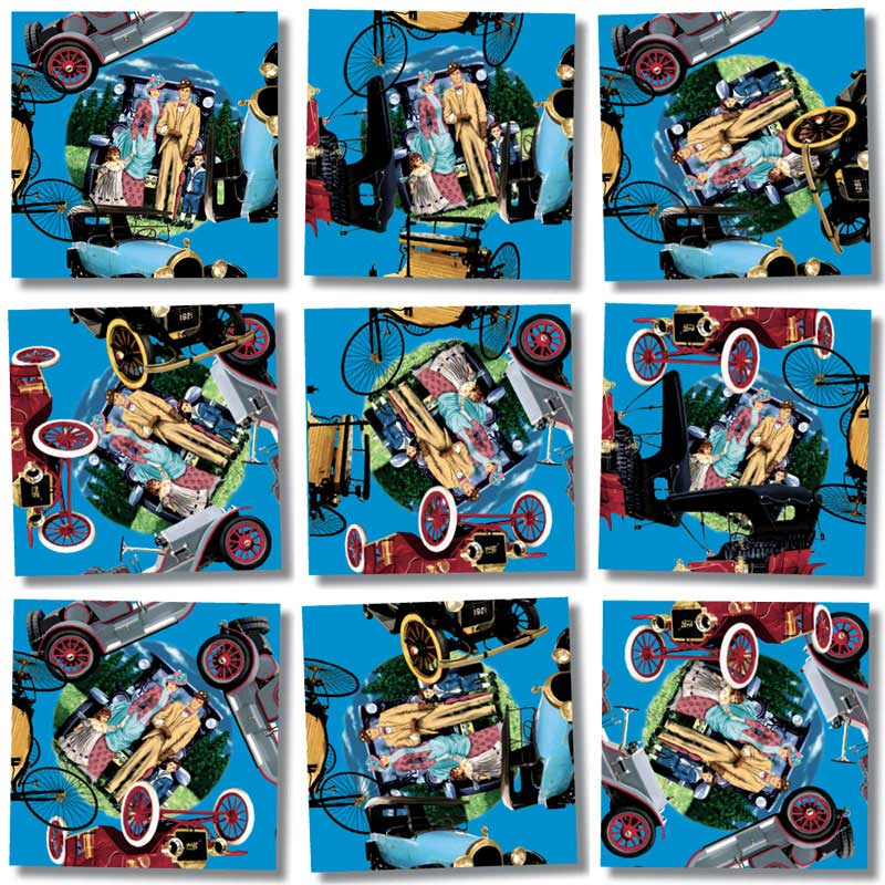 Antique Autos Cars Jigsaw Puzzle