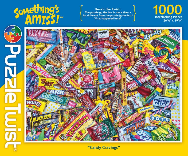 Candy Cravings Sweets Hidden Images