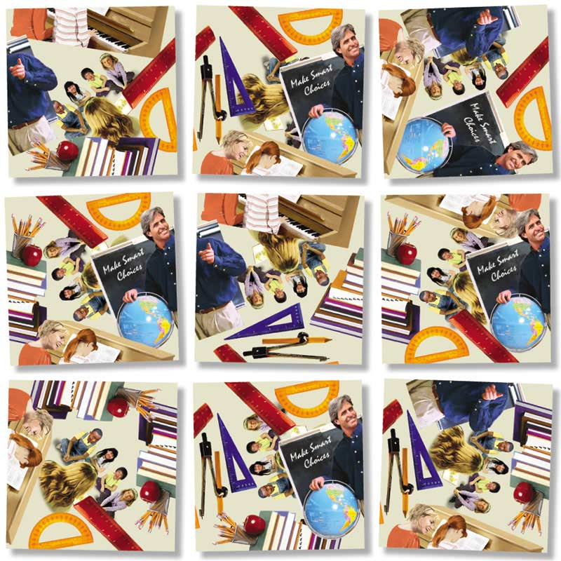 Teachers Everyday Objects Jigsaw Puzzle
