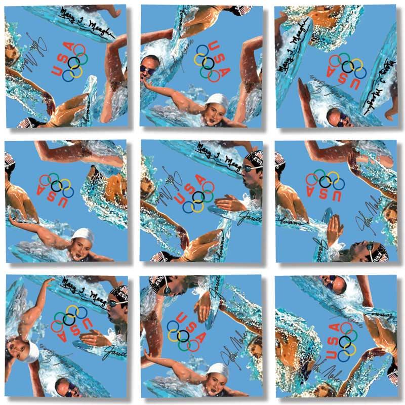 Swimming Champions Sports Jigsaw Puzzle