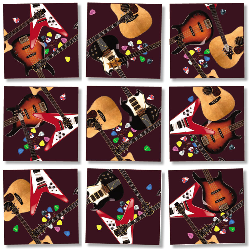 Guitars Music Jigsaw Puzzle