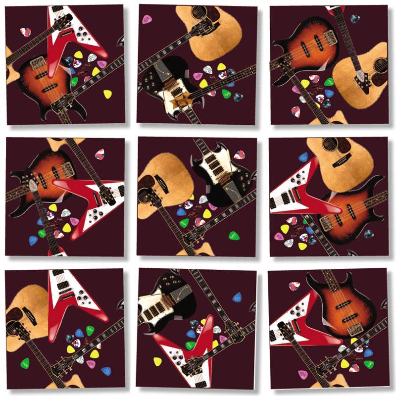 Guitars Music Jigsaw Puzzle