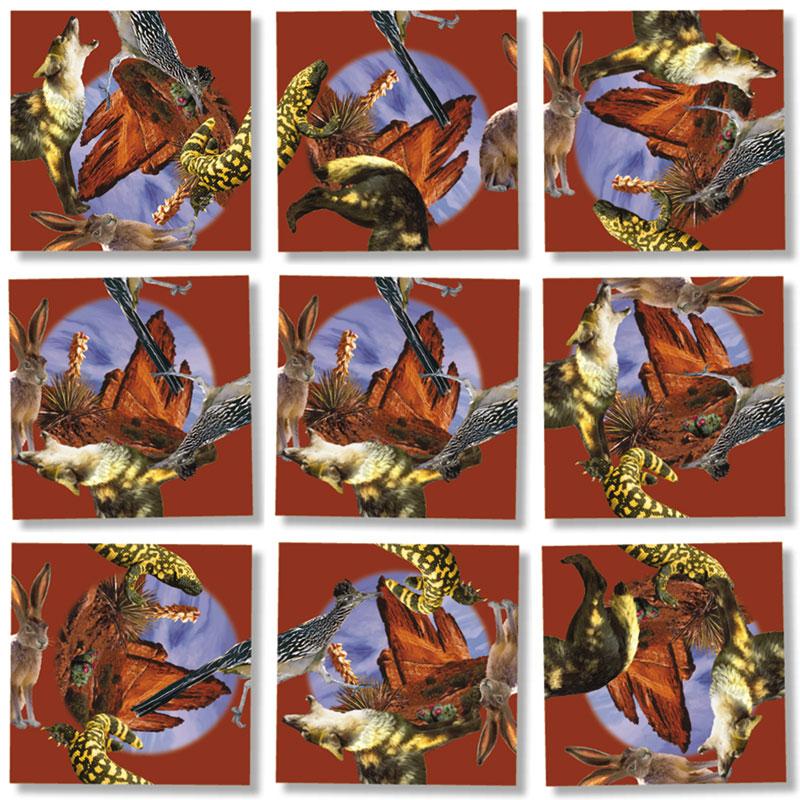 American Desert SW Wildlife Wildlife Jigsaw Puzzle