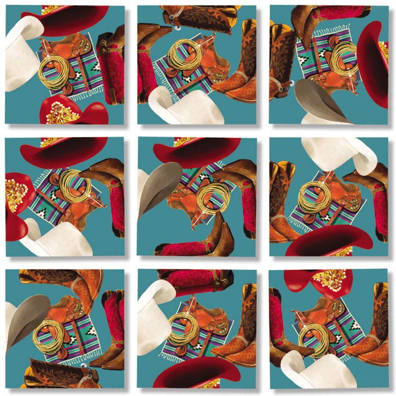 Cowboys and Cowgirls Countryside Children's Puzzles