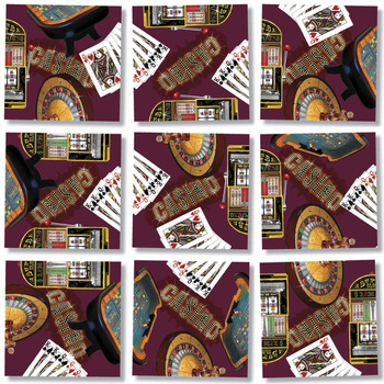 Casino Everyday Objects Jigsaw Puzzle
