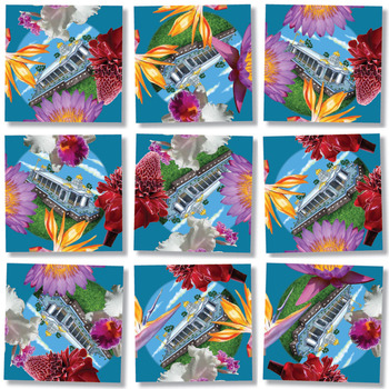 Temple in Paradise Religious Jigsaw Puzzle
