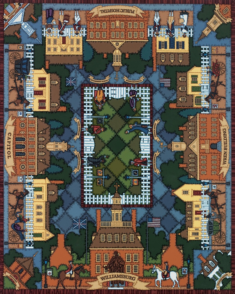 Williamsburg Quilt Crafts & Textile Arts Jigsaw Puzzle