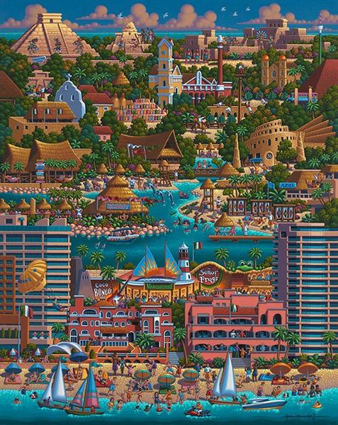 Cancun Travel Jigsaw Puzzle