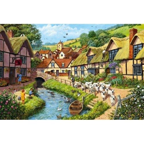 Country Village Countryside Jigsaw Puzzle