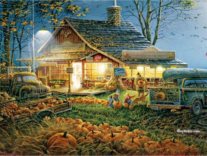 Autumn Traditions Jigsaw Puzzle Puzzlewarehouse Com