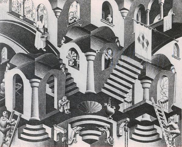 Escher: Concave & Convex Jigsaw Puzzle