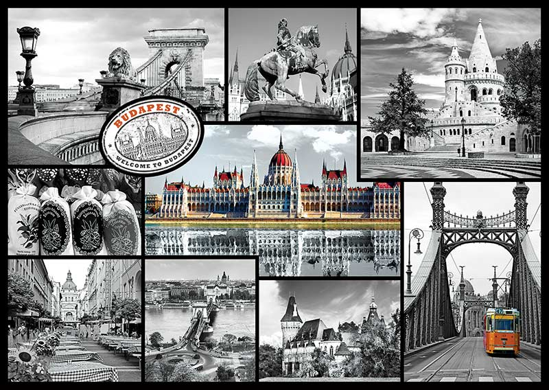 Budapest Travel Jigsaw Puzzle