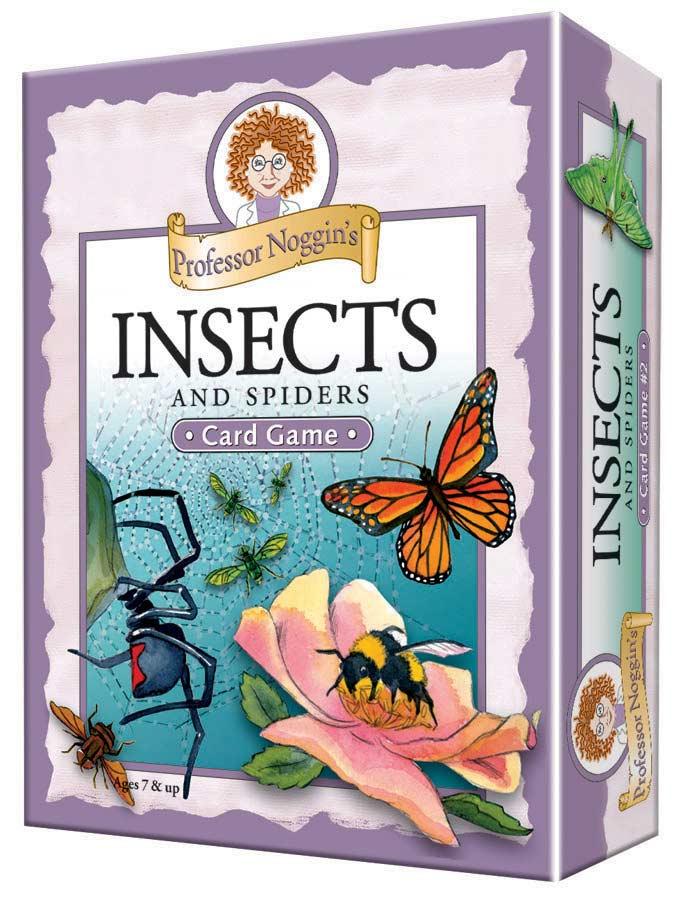 Professor Noggin's Insects & Spiders