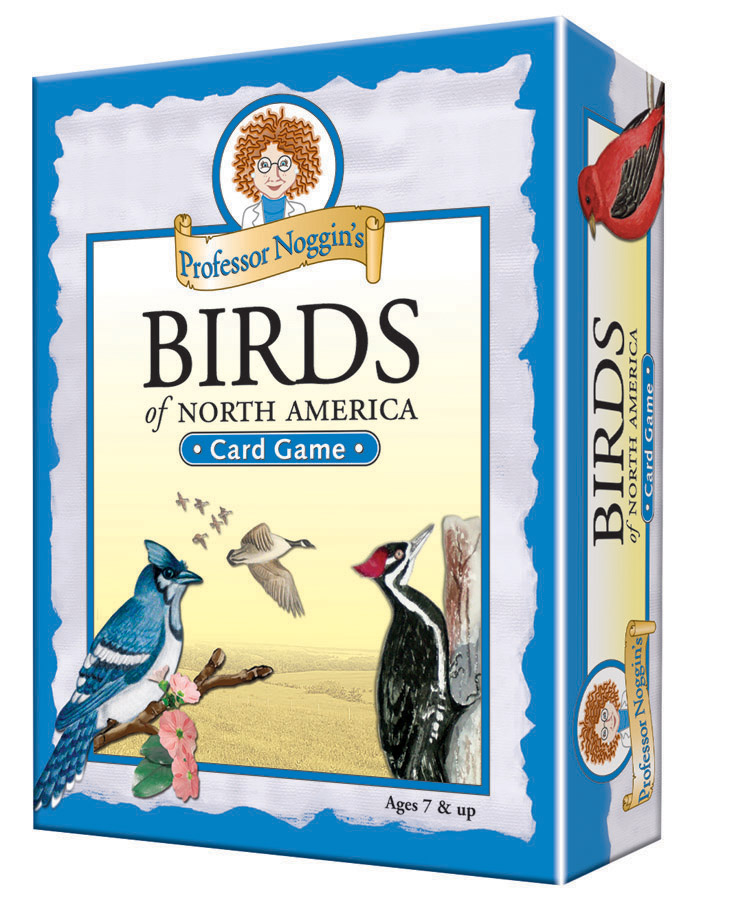 Professor Noggin's Birds of North America