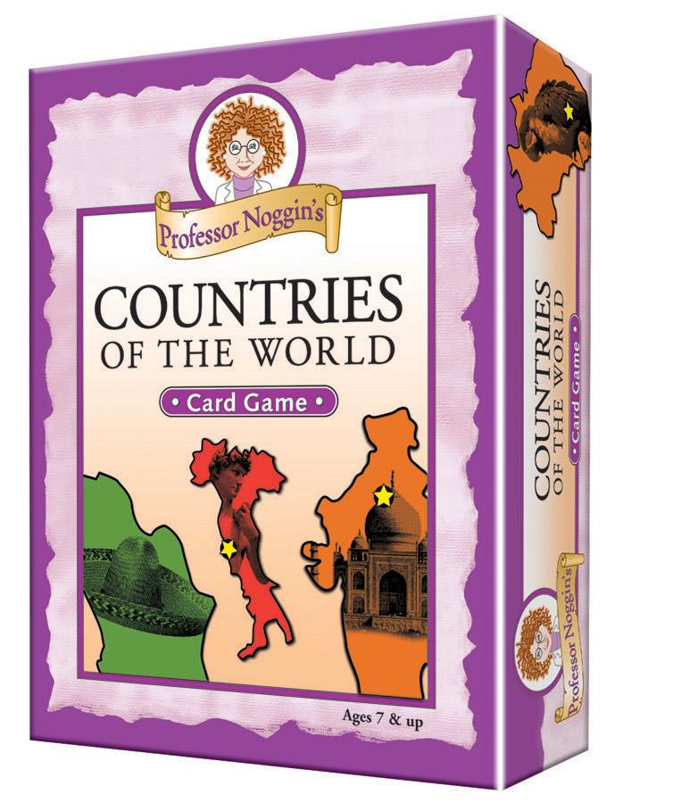Professor Noggin's Countries of the World