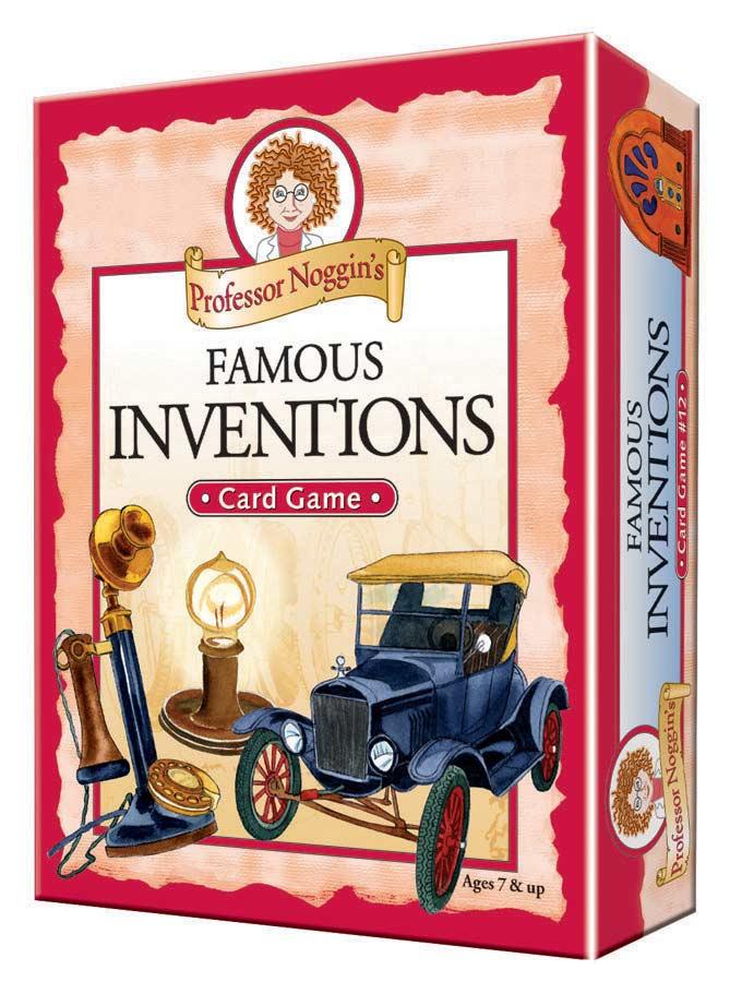 Professor Noggin's Famous Inventions Science