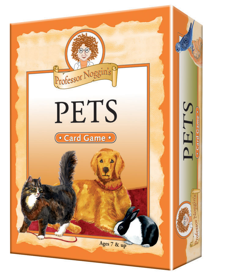 Professor Noggin's Pets