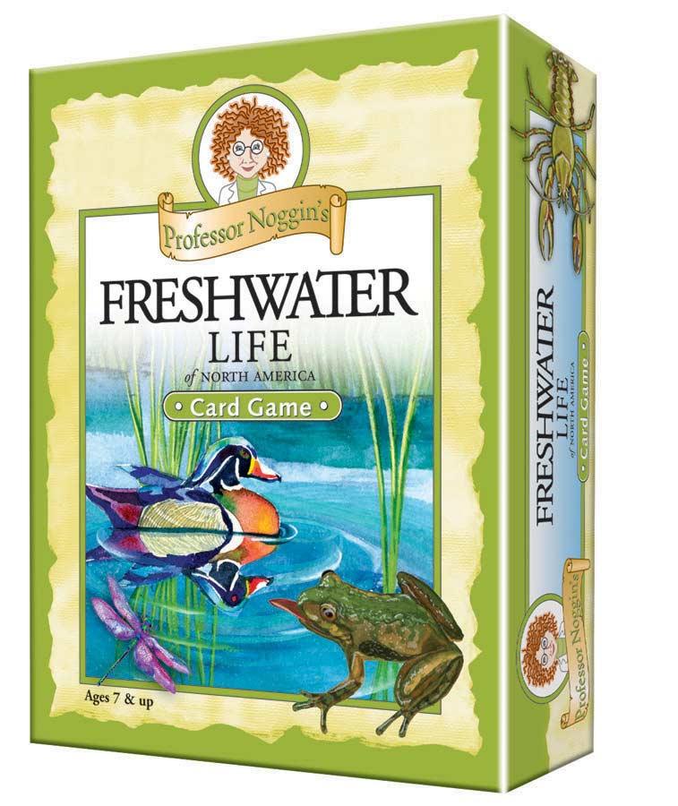 Professor Noggin's Freshwater Life
