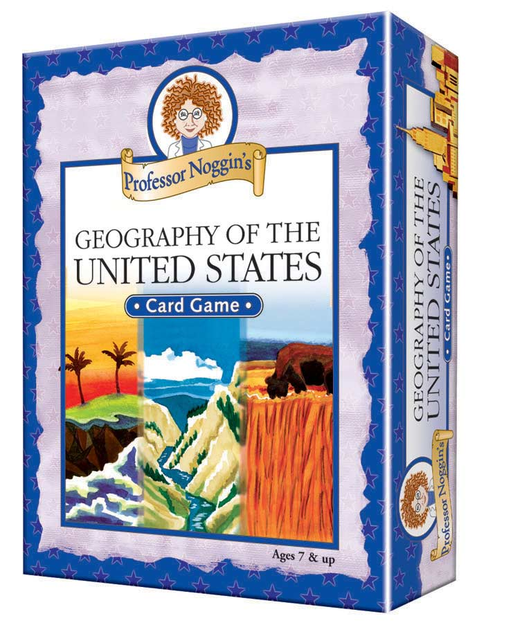 Professor Noggin's Geography of the US Educational