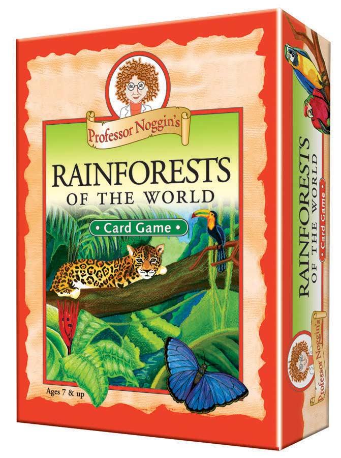Professor Noggin's Rainforests of the World Animals