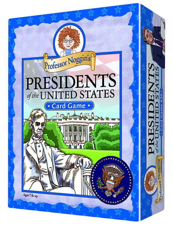 Professor Noggin's Presidents of the US