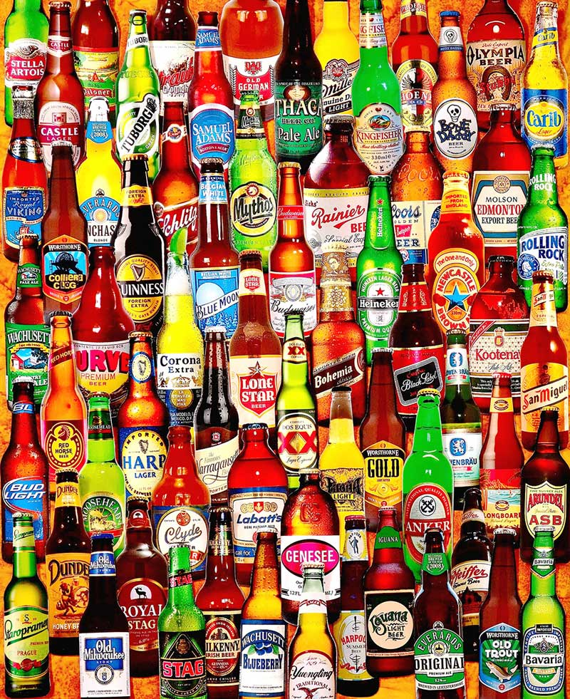 99 Bottles of Beer on the Wall - Scratch and Dent Food and Drink Jigsaw Puzzle