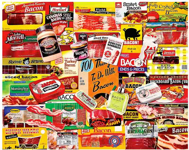 Bacon 101 Food and Drink Jigsaw Puzzle