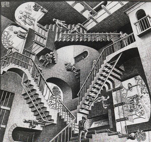 Escher: Relativity Jigsaw Puzzle